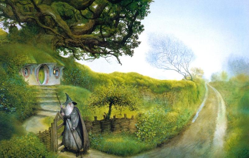 Jardin des Hobbits Gandal10