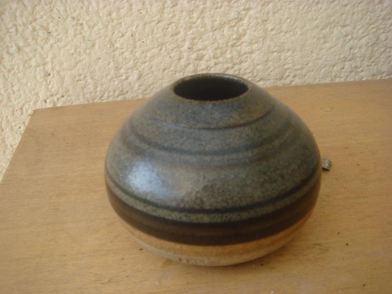 Lovely little Salt Glazed-Ash Glazed Bowl...impressed mark...H? Copied30