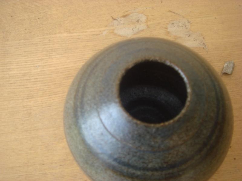 Lovely little Salt Glazed-Ash Glazed Bowl...impressed mark...H? Copied32