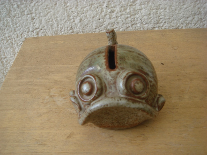 Stoneware Fish Money Box by Signum Pottery Copied50
