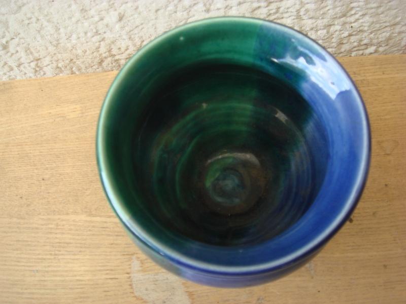 Any ideas...nice glaze..TL MAXX ? Two marks..initials ?? Copied56