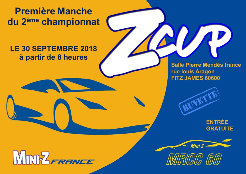 Première manche ZCup saison 2 Affich12