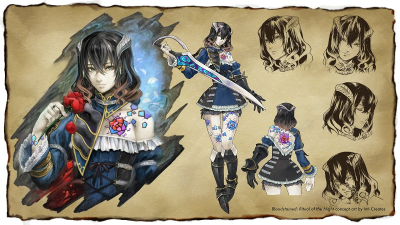 Bloodstained, a return to Castlevania's of old. Miriam12