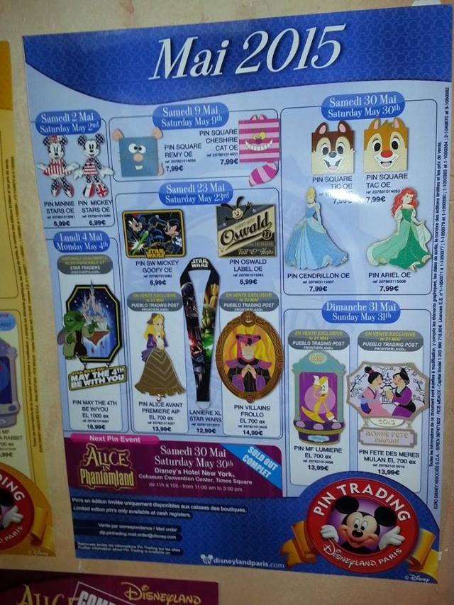 Le Pin Trading à Disneyland Paris - Page 40 11107110