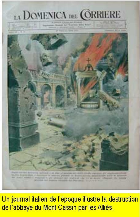 """La destruction de l'Abbaye du Mont-Cassin par les """"Alliés"""" en 1944 Mont_c10"""