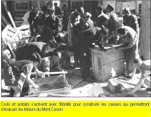 """La destruction de l'Abbaye du Mont-Cassin par les """"Alliés"""" en 1944 Mont_c11"""