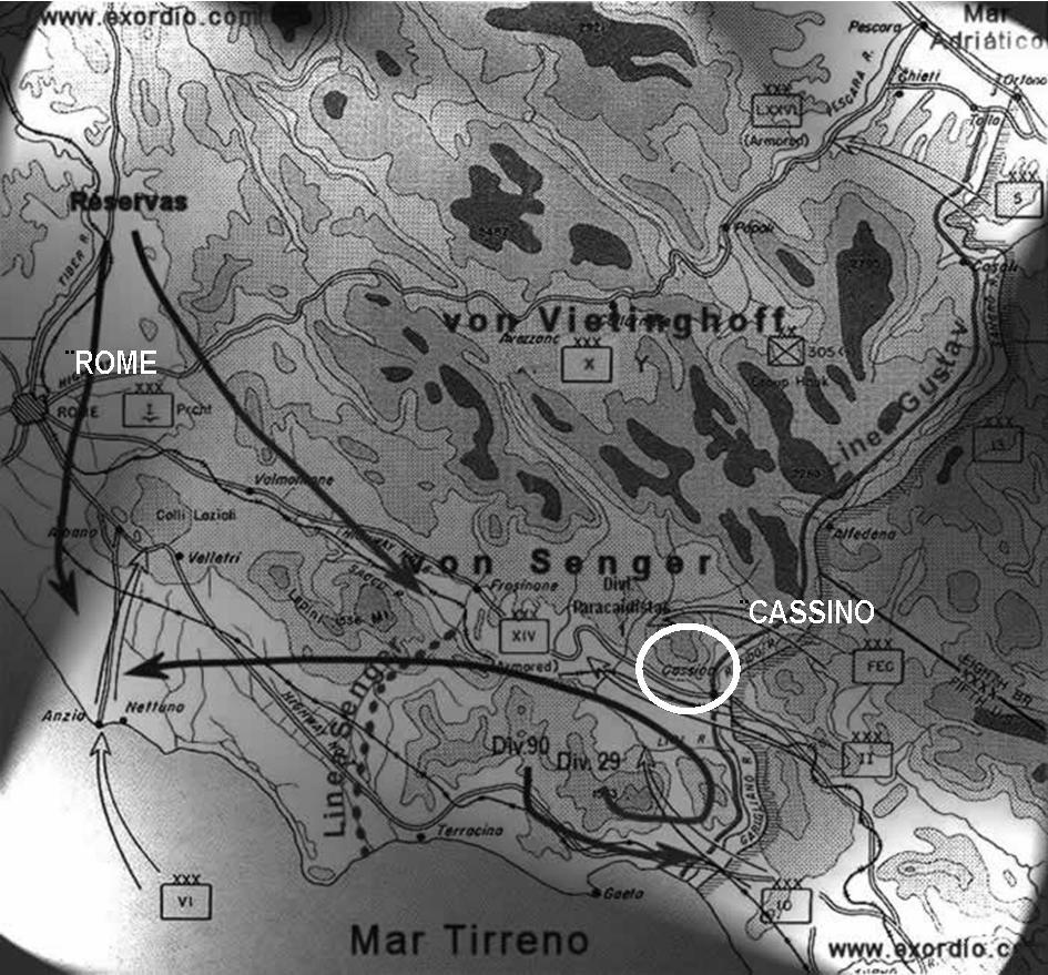 """La destruction de l'Abbaye du Mont-Cassin par les """"Alliés"""" en 1944 Mont_c19"""