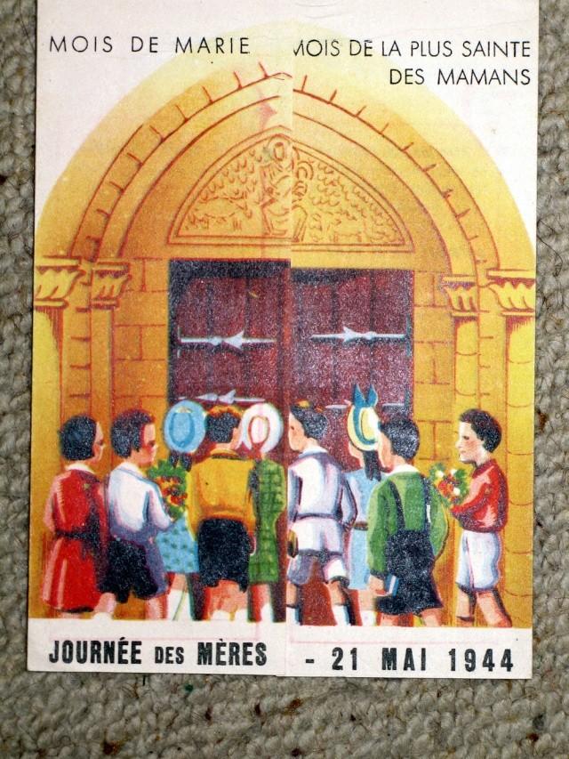 Consécration de la France au Cœur Immaculé de Marie le 22 Novembre 1940 et le 28 Mars 1943 Tract_12