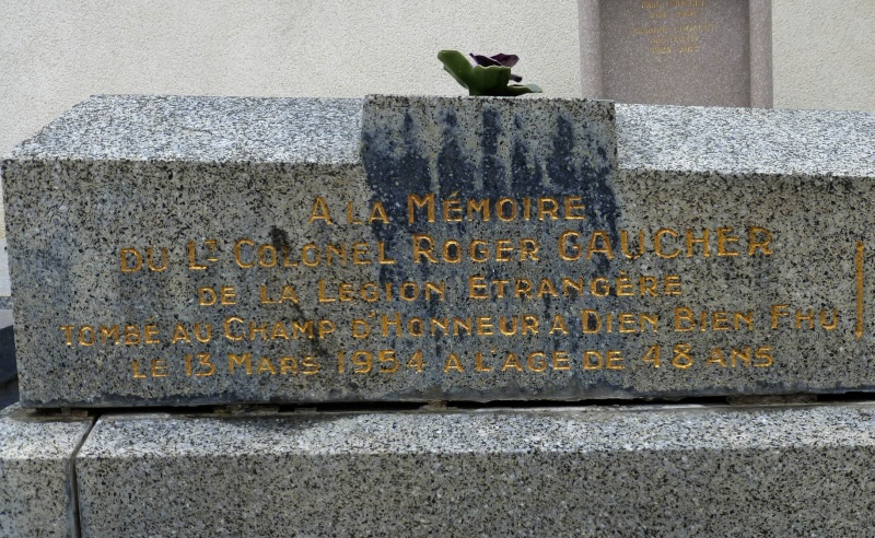 Lieutenant-Colonel Jules GAUCHER 13è DBLE MPLF 1954 Tombe_12