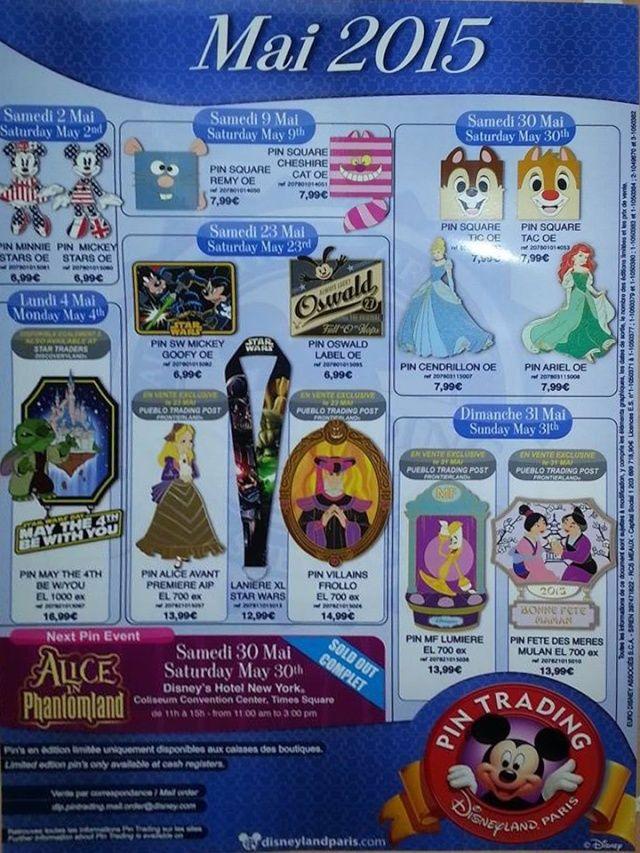Le Pin Trading à Disneyland Paris Pin-tr10