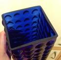 Blue bubble vase Bubble12