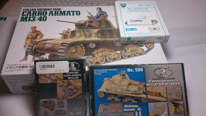 CARRO ARMATO M13/40 TAMIYA PE ET ACCESSOIRES ROYAL MODEL 1/35 TERMINE Ca0110