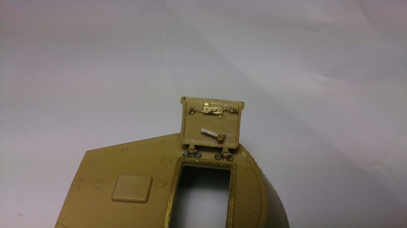 CARRO ARMATO M13/40 TAMIYA PE ET ACCESSOIRES ROYAL MODEL 1/35 TERMINE Ca0210