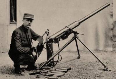 Il y a 100 ans, Edgar Brandt inventait l'obusier pneumatique . Brandt10