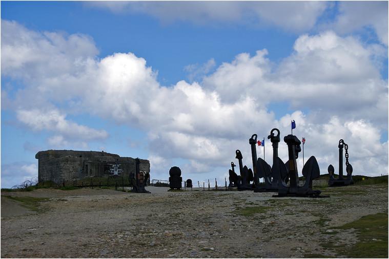 La pointe de Penhir - mémorial de la bataille de l'atlantique . Pointe11