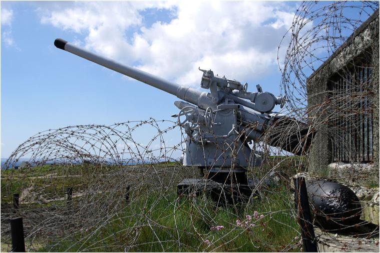 La pointe de Penhir - mémorial de la bataille de l'atlantique . Pointe18