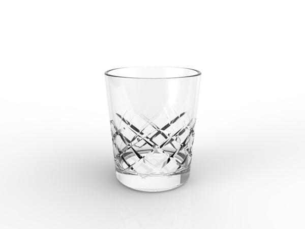 Verre à whisky Skp, inctrustation aide Verre10