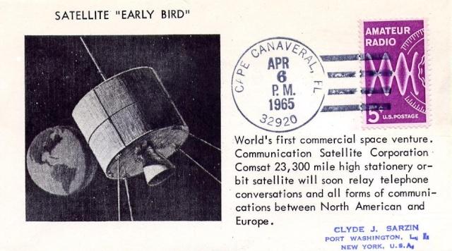 50ème anniversaire du lancement du premier satellite commercial de télécommunications - Early Bird 1965_010