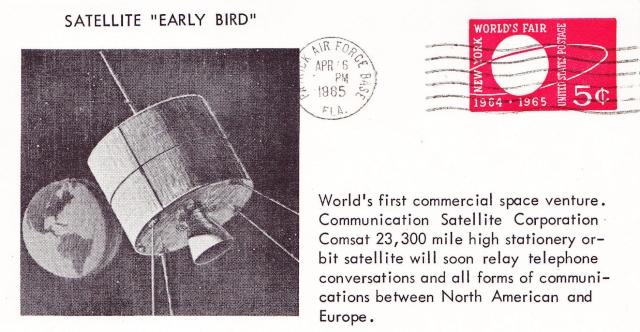50ème anniversaire du lancement du premier satellite commercial de télécommunications - Early Bird 1965_011