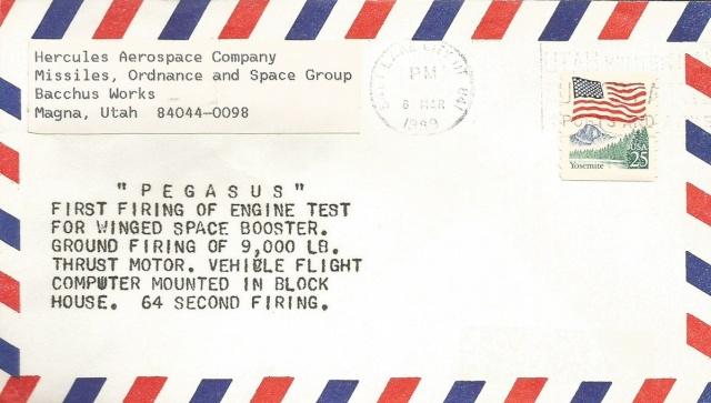 25ème anniversaire du 1er lancement du Pegasus d'Orbital - 5 avril 1990 1989_010