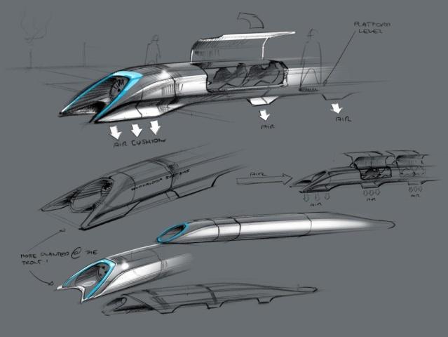 Le nouveau projet d'Elon Musk - un New York - Los Angeles en train en 1 heure - Hyperloop 24_48210