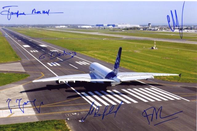 10ème anniversaire du premier vol de l'Airbus A380 / 27 avril 2005 Airbus10