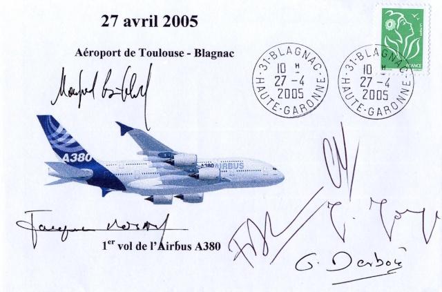 10ème anniversaire du premier vol de l'Airbus A380 / 27 avril 2005 Airbus11