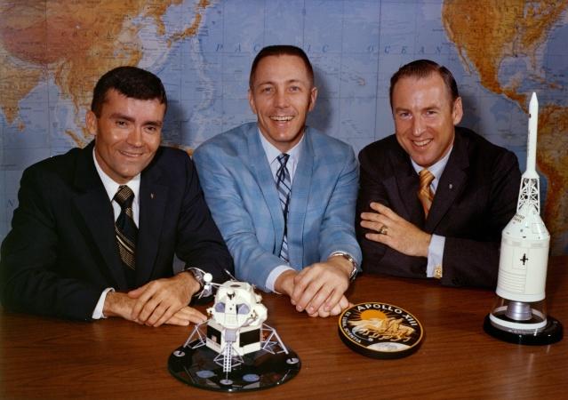 45ème anniversaire de la mission Apollo 13 Apollo10