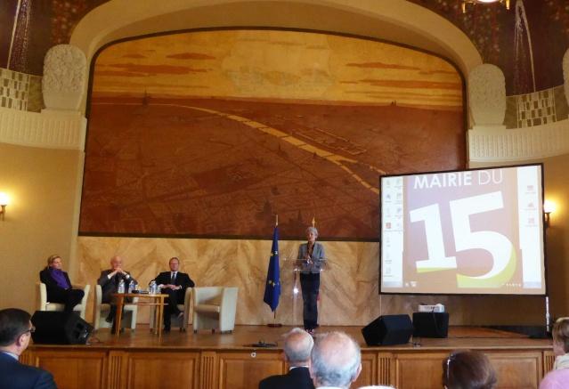 [Conférence] Claudie Haigneré à la mairie du 15ème le 21 mai 2015 Claudi12