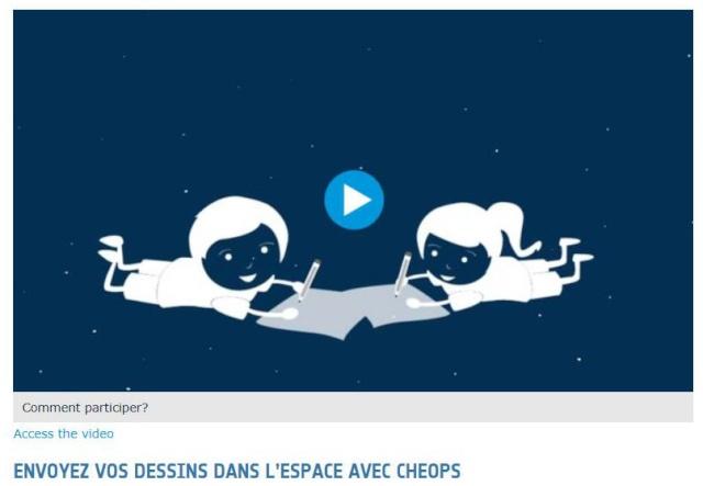 Envoyez vos dessins dans l'espace avec Cheops et l'ESA Dessin10