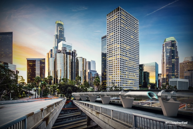 Le nouveau projet d'Elon Musk - un New York - Los Angeles en train en 1 heure - Hyperloop Hyperl10