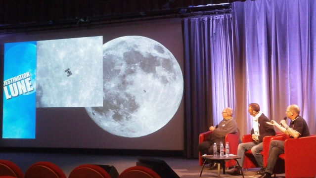 13 au 15 mars 2015 - Destination Lune / Cité des Sciences à Paris P3150015