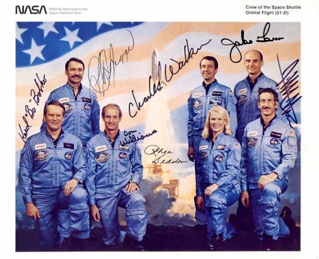 30ème anniversaire de la mission STS-51D / 12 avril 1985 Sts-5110