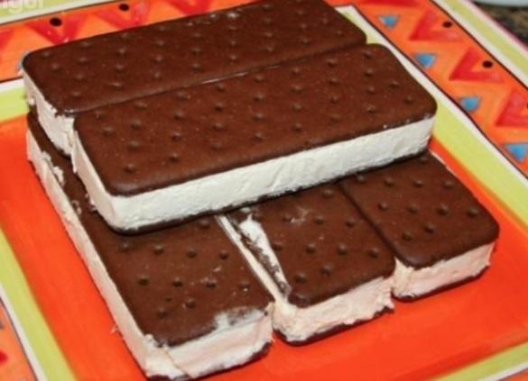 Gâteau aux sandwichs à la crème glacée 110