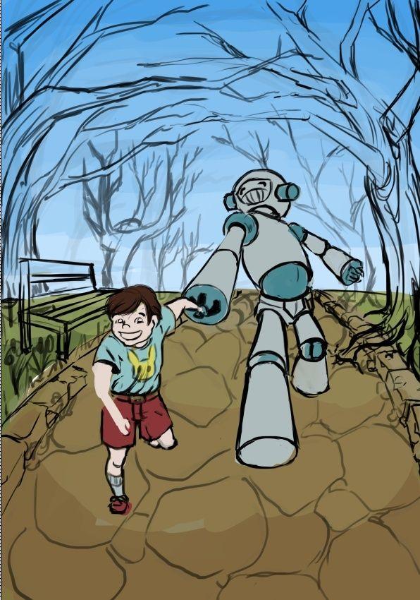 IM8 Enfant robot (Reminiscence) - Page 2 Captur56