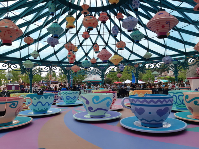 Mad Hatter's Tea Cups - Réhabilitation [Fantasyland - 2018] - Page 3 20180727
