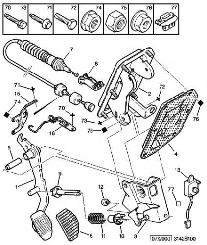 [ peugeot 306 1.9l D xnd an 1994 ] probleme lors du remontage du cable d'embrayage  - Page 2 306res10