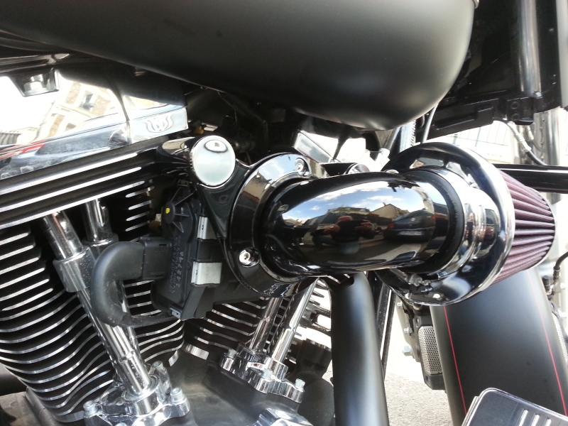 référence cache filtre  Screamin'eagle heavy Breather  2015-024