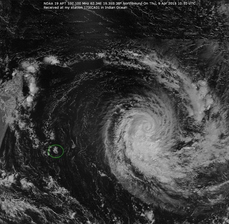 RECEPTION SATELLITES METEOSAT ET NOAA  09041510