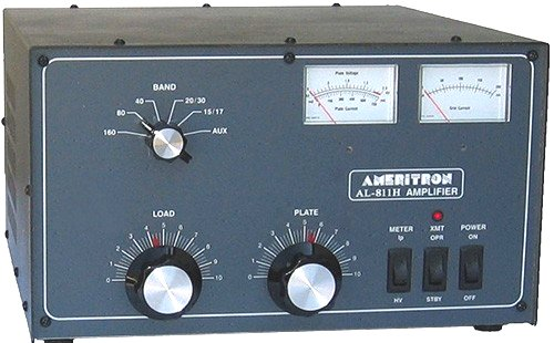 AMERITRON AL-811H ou comment règler un PA à lampe ! Ampli_10