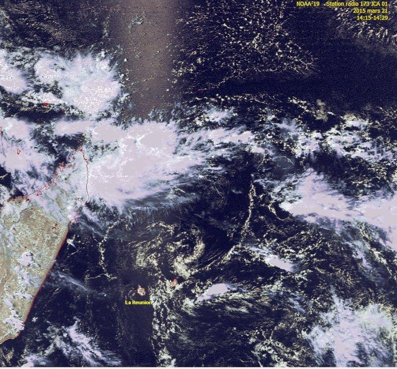 RECEPTION SATELLITES METEOSAT ET NOAA  Noaa_111