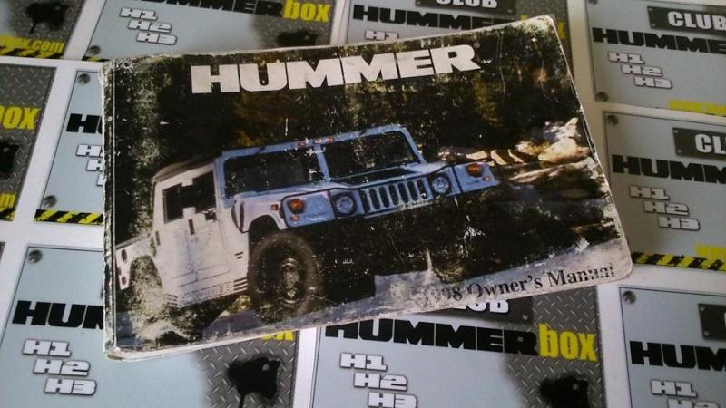 HUMMERBOX vous offre son Dépôt/Vente pour toutes vos pièces et accessoires Hummer 11196211
