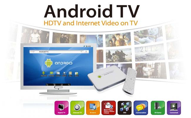Smart TV, Internet TV và DVB-T2 Androi10