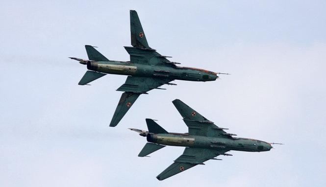 2 chiếc SU-22 mất tích trên biển Ninh Thuận Scyfla10