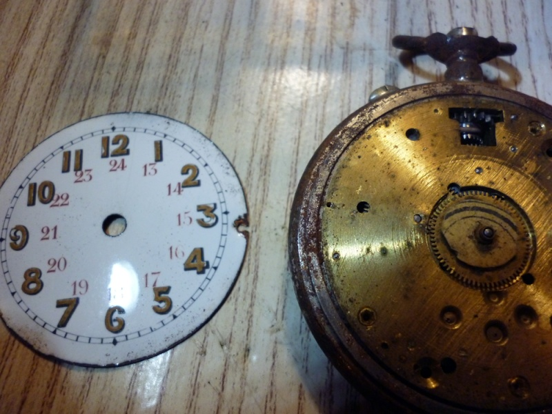 Restauration montre de gousset rouillée P1030813