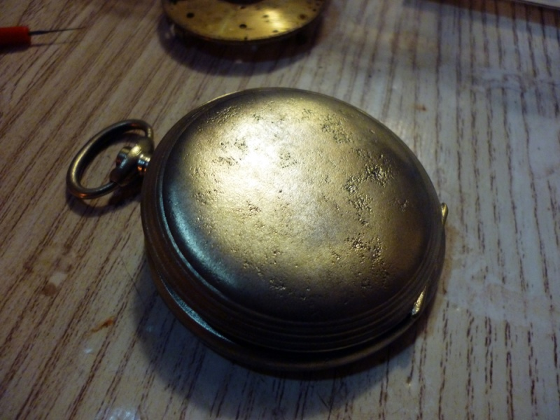 Restauration montre de gousset rouillée P1030821