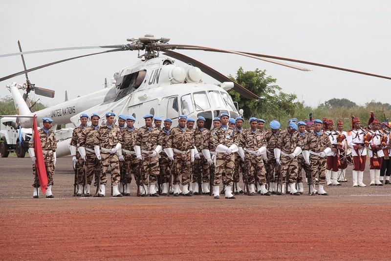 Maintien de la paix dans le monde - Les FAR en République Centrafricaine - RCA (MINUSCA) - Page 2 17116111