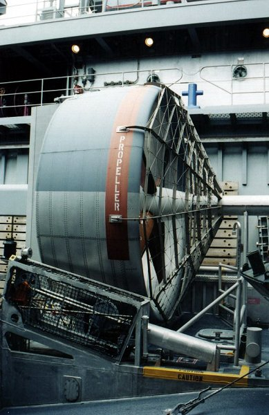 U.S Navy landing caft air cushion 1:144 Lcac510