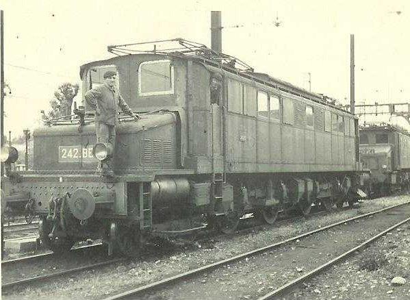 Locomotives 3ème rail Maurienne 242-be10