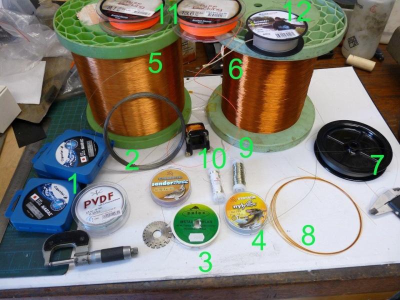 Lignes métalliques pour pêcher dans le vent Tenkar10